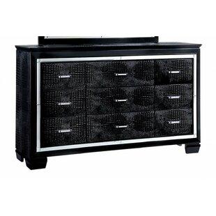Mote 9 Drawer Double Dresser by Rosdorf Park