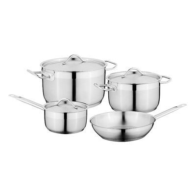 Hotel 7-Piece Stainless Steel Cookware Set BergHOFF