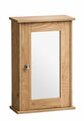 34cm X 53cm Surface Mount Mirror Cabinet By Natur Pur
