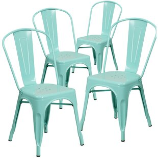 Affordable Armless Stacking Dining Chair (Set of 4) by Flash Furniture Reviews (2019) & Buyer's Guide