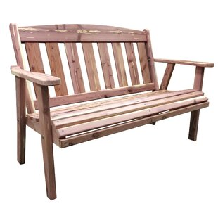 Richfield Cedar Garden Bench