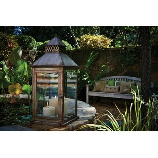 Peak Season Inc. Meridian Steel Lantern