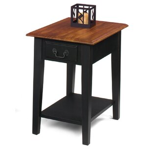 Willow Creek End Table by Red Barrel Studio