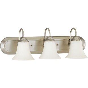 Yale 3-Light Vanity Light By Charlton Home