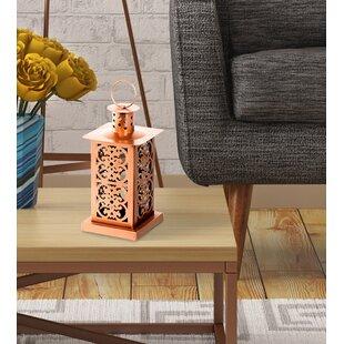 Bungalow Rose Metal Lantern