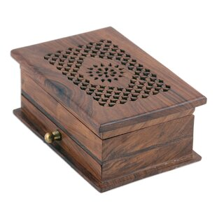 Reviews Floral Dignity Wood Jewelry Box ByBloomsbury Market
