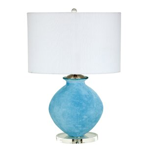 Deans Tiffany Glass 23 Table Lamp