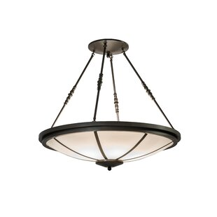 6-Light Semi-Flush Mount by Meyda Tiffany