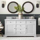 Ogallala 60 Double Bathroom Vanity Set by Greyleigh™