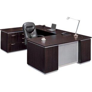 Flexsteel Contract Pimlico Personal File U-Shape Executive Desk