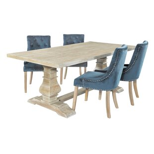 Chambery Dining Set With 4 Chairs By Fleur De Lis Living