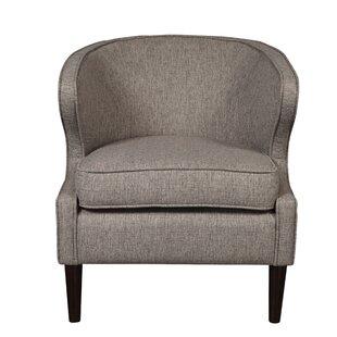 Charlton Home Bullion Modern Shelter Back Barrel Chair