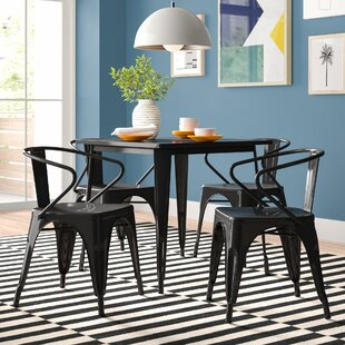 Dimitri Metal 5 Piece Dining Set