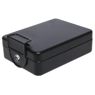 Homak First Watch Portable Cash Lock Box