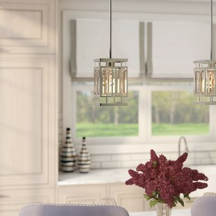 Vella 1-Light LEDSquare/Rectangle Pendant by Everly Quinn