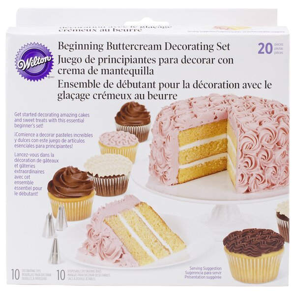 21 Piece Cake Decorating Set