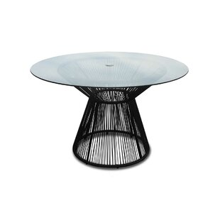 Ehrlich Glass Dining Table by Ivy Bronx