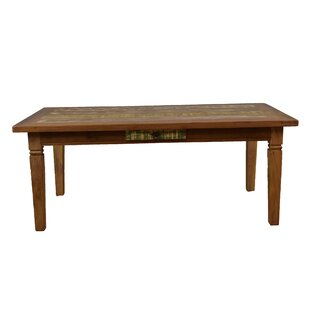 Goulart Solid Wood Dining Table Bloomsbury Market