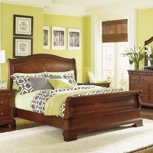 Darby Home Co Edith Sleigh Bed