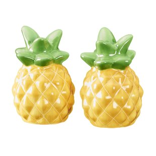 Boca Raton Pineapple Salt and Pepper Sets (Set of 2)