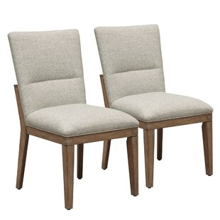 Marshburn Upholstered Dining Chair (Set of 2) Union Rustic