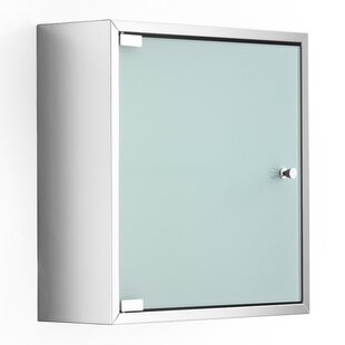 Linea 15.7 W x 15.7 H Wall Mounted Cabinet by WS Bath Collections