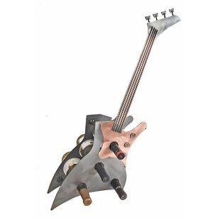 Guitar 1 Bottle Tabletop Wine Rack by H &..