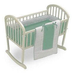 cradle bassinet bedding youll love wayfair - Bassinet Bedding