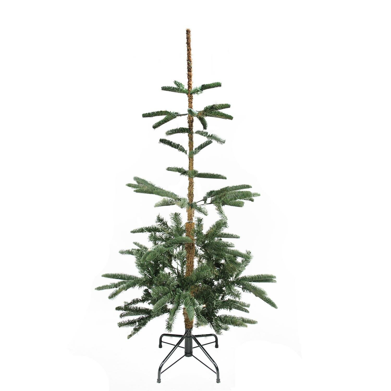 The Holiday Aisle Noble 4.5\' Green Fir Trees Artificial Christmas ...
