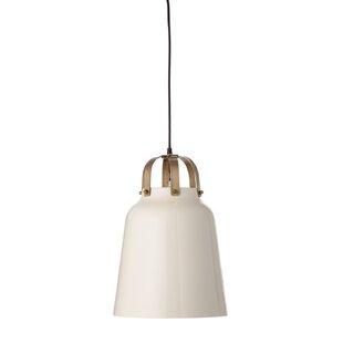Modern bell pendant lighting allmodern lomonaco metal 1 light bell pendant aloadofball Gallery