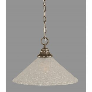 Red Barrel Studio Carpen 1-Light Bowl Pendant