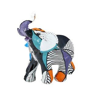 "Safari African Baby Calf Elephant Playing 3.25/""H Decorative Figurine Set of 4"