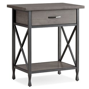 Compare & Buy Cayton 1 Drawer Nightstand by Charlton Home