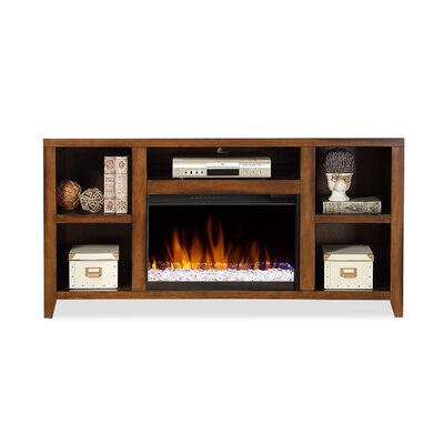 """Purington TV Stand for TVs up to 66"""" with Fireplace by August Grove"""