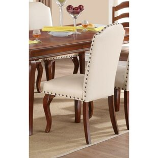 Rowlett Upholstered Dining Chair (Set of 2) Charlton Home