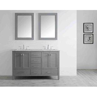 Read Reviews Pichardo 60 Double Bathroom Vanity Set ByBrayden Studio