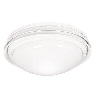 Low Profile Marine II 2-Light Bowl Ceiling Fan Light Kit