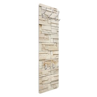 Provence Stones Wall Mounted Coat Rack By Symple Stuff
