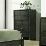 Brasel 5 Drawer Chest by Charlton Home®