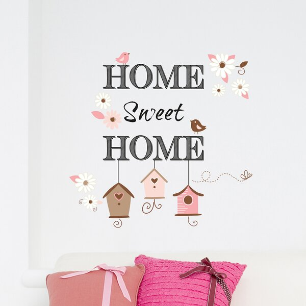 Home Decor Line Home Sweet Home Wall Decal | Wayfair.ca Part 95