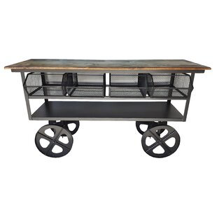 17 Stories Embree Media Cart Console Table