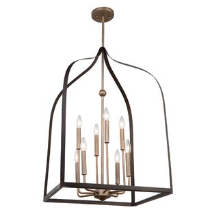 Worthington 8-Light Lantern Chandelier by Artcraft Lighting