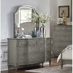 Langdon-Gray 9 Drawer Dresser with Mirror