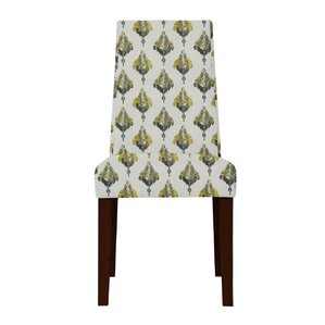 Haddonfield Ferns Parsons Chair (Set of 2) by Latitude Run