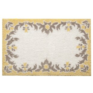 Damask Bath Rug by Famous Home Fashions