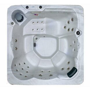 Hudson Bay Spas 6-Person 34-Jet Plug and Play Spa with Stainless Jets and Underwater LED Light