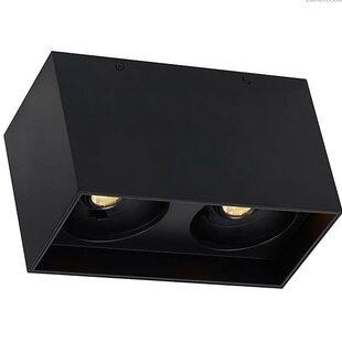 Orren Ellis Pepin Dual LED Flush Mount