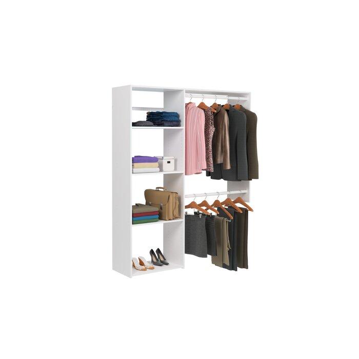 Wondrous Alana 36W 60W Shelving Closet System Pdpeps Interior Chair Design Pdpepsorg