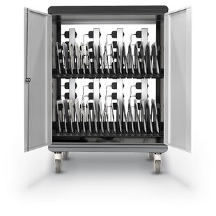 A La Cart 32-Compartment Tablet Storage Cart by Best-Rite?
