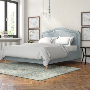 Joyce Upholstered Bed Frame By ClassicLiving